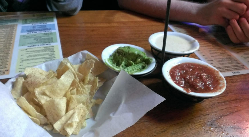 Appetizer samplers are the best.