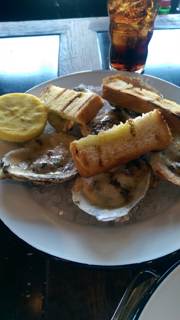 I never thought I'd crave oysters, but that's exactly what I'm doing right now.