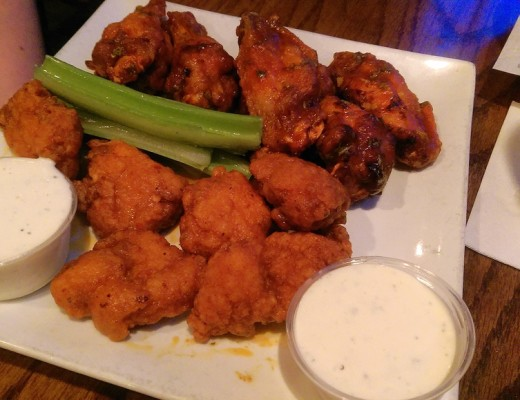 Next time, I think I'm just going to only order wings with different sauces, because these were just too good.