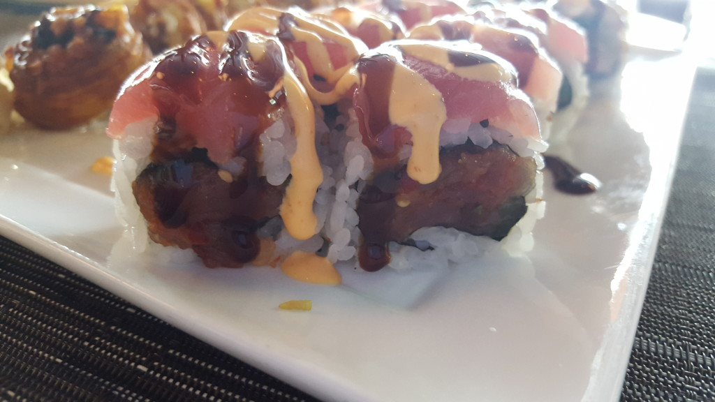 Although, I'd avoid this roll if you're not into spicy mayo. Or tuna.