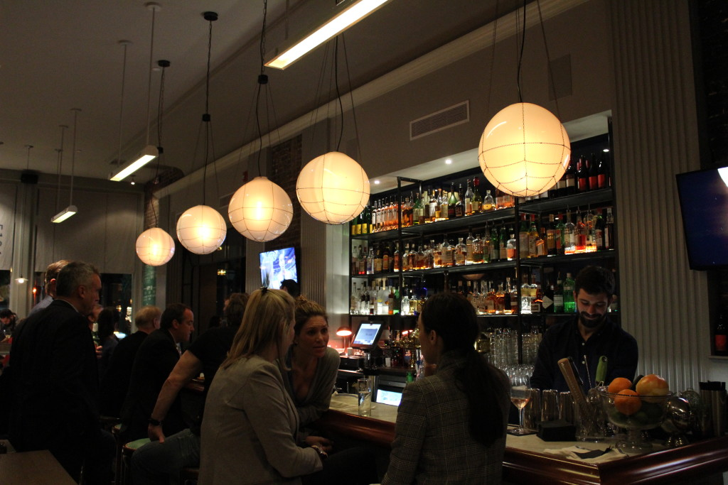 Love those lights above the bar!