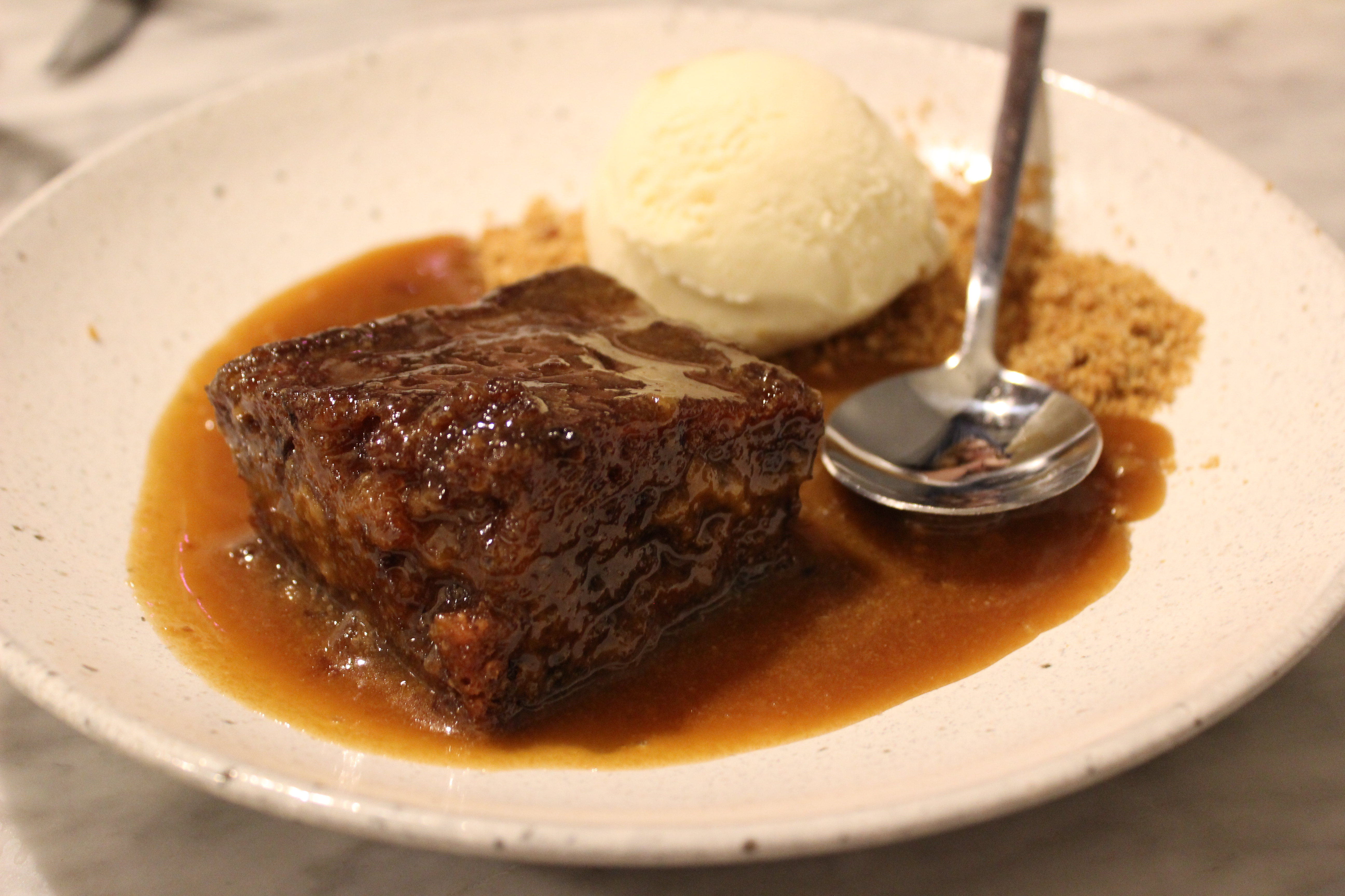 """Sticky toffee pudding"" makes me think of Christmas for some reason"