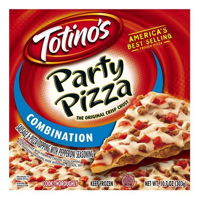 I wasn't sure which Adam Peterson was responsible for the quote, but I definitely know which Totino's Party Pizza he was referring to.