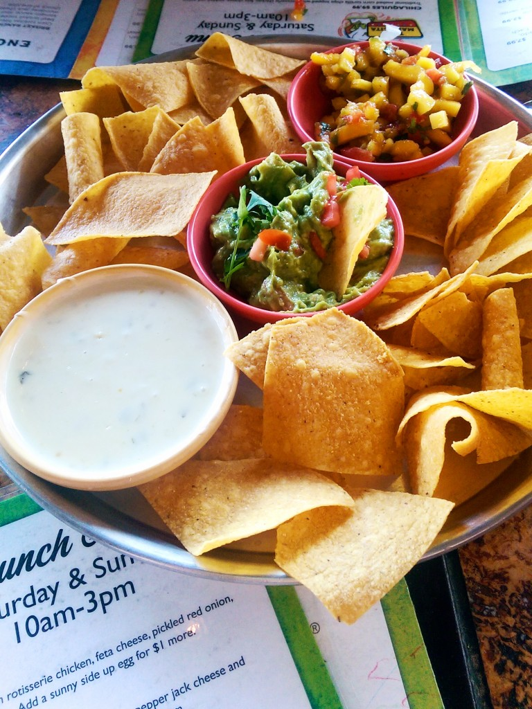 What would Mexican brunch be without chips and dip??
