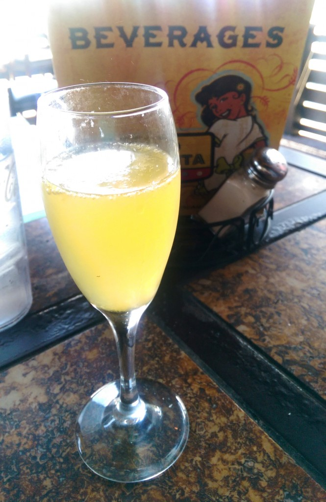 I have a mimosa addiction.