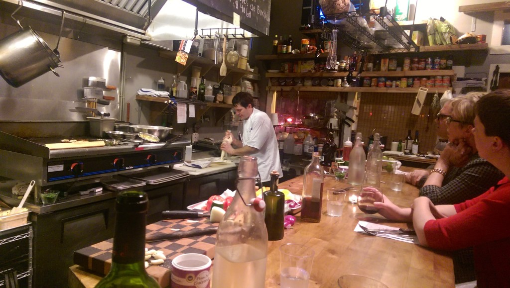 Chef Ross, hard at work being awesome.