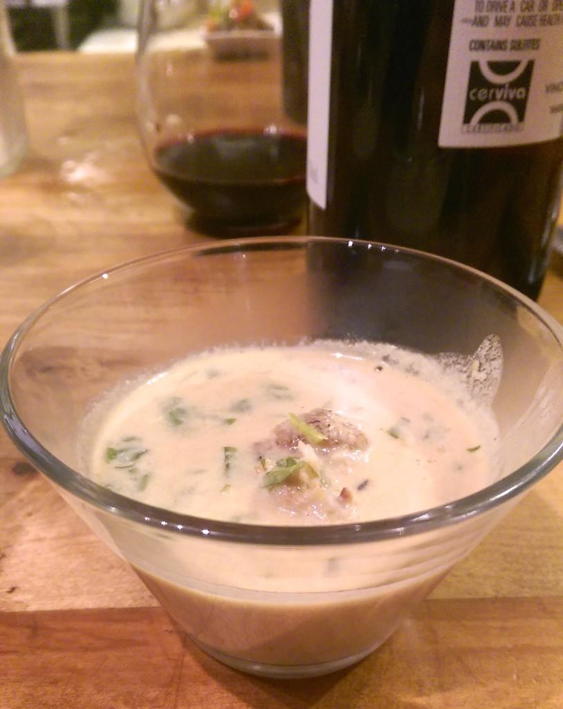 I love soups that look like gravy.