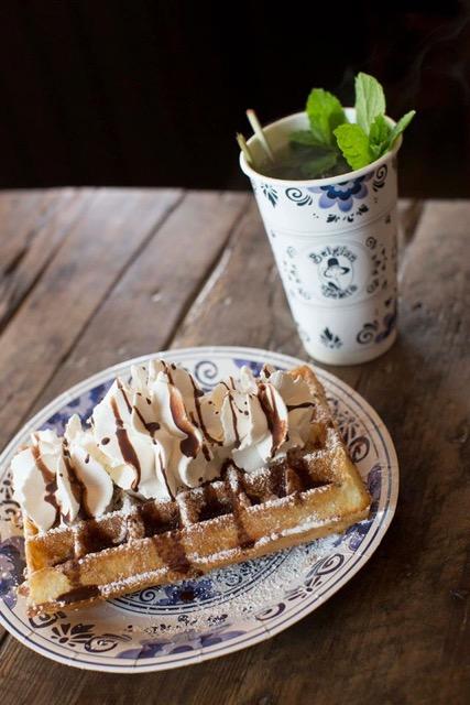 Mmm...dessert waffles