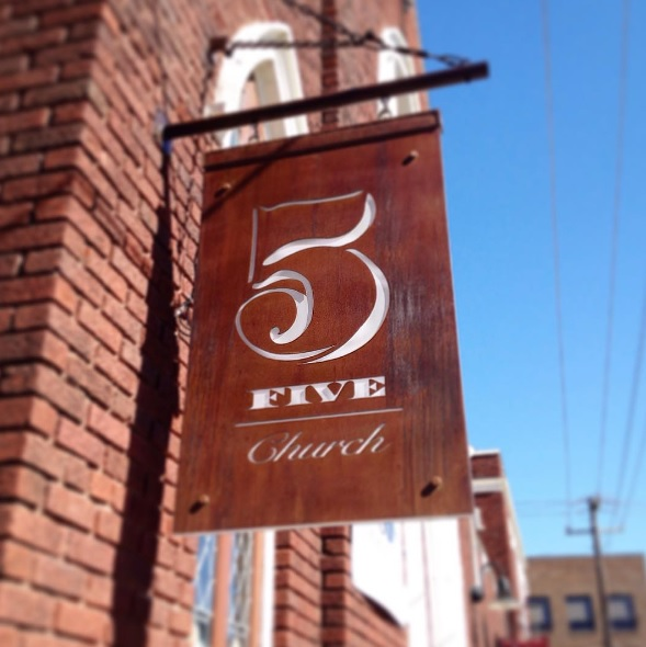 5Church sign