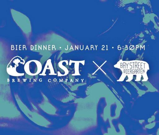 Coast Beer dinner