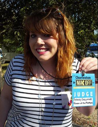 Like that time I was a judge at the Mac Off. #Humblebrag