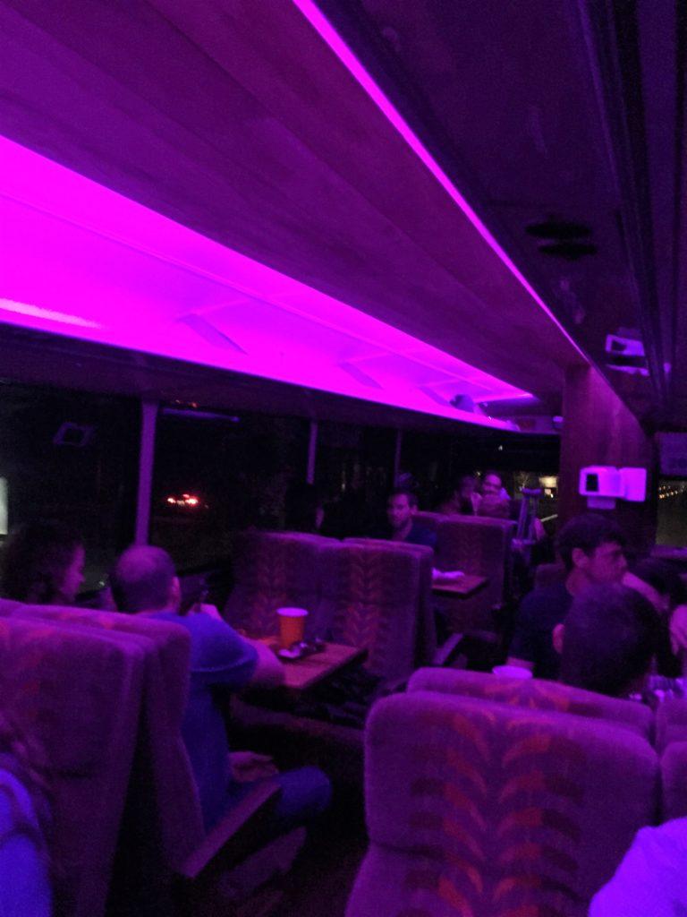 Disco sushi bus! New band name!