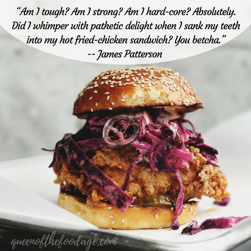 Quote Of The Week Good Food Is My Kryptonite Queen Of The Food Age